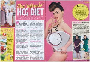 Amy Sinclair success with hCG drops